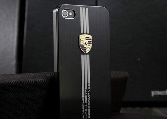 Чехол Porsche black для iPhone 4/4S