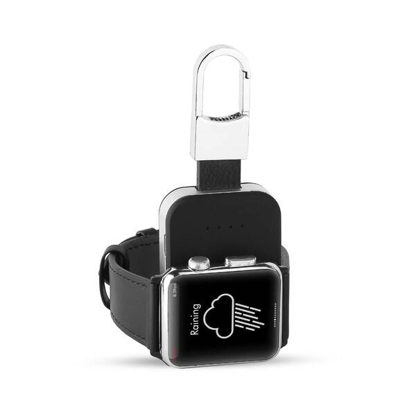 Портативный внешний аккумулятор с карабином iLoungeMax Portable Charger 400mAh для Apple Watch 1 | 2 | 3