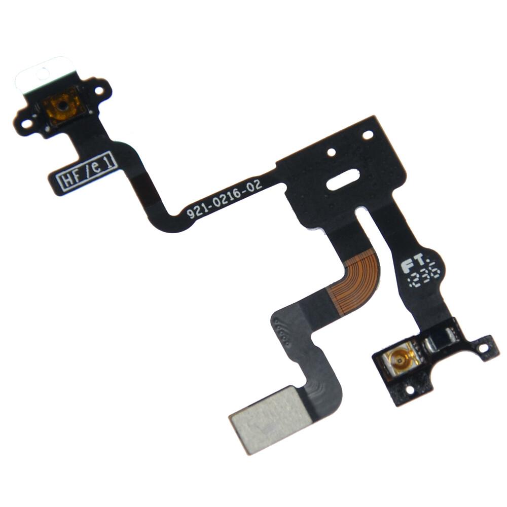 Купить Шлейф кнопки включения и датчика света для iPhone 4S
