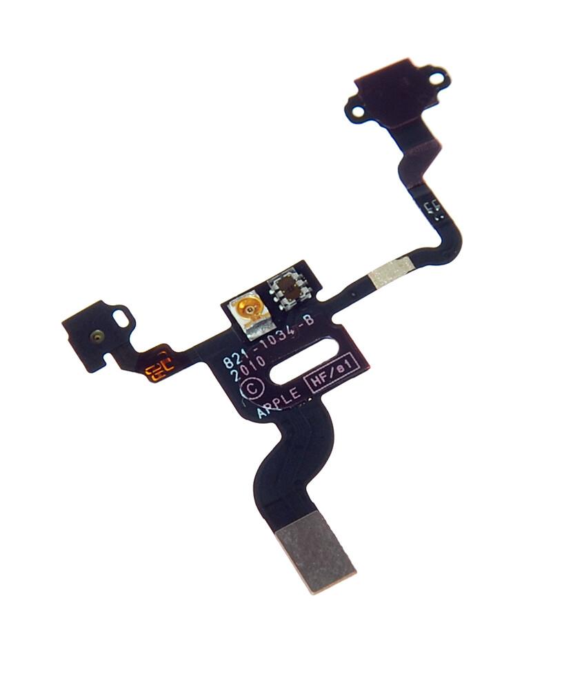 Купить Шлейф кнопки включения и датчика света для iPhone 4