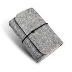 Серый войлочный чехол для зарядки MagSafe и мышки Magic Mouse
