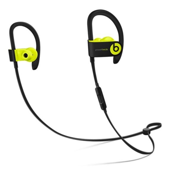 Беспроводные наушники Beats Powerbeats3 Wireless Shock Yellow