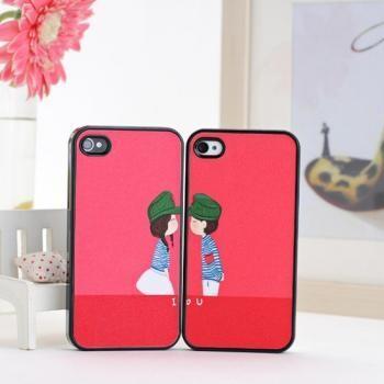 Чехол для влюбленных Valentine Lovers для iPhone 4/4S