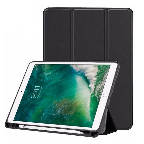 "Чехол с держателем для стилуса iLoungeMax Protective Smart Cover Black для iPad Air 3 (2019) | Pro 10.5"""