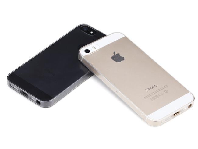 Прозрачный TPU чехол Silicol 0.6mm Clear для iPhone 5/5S/SE