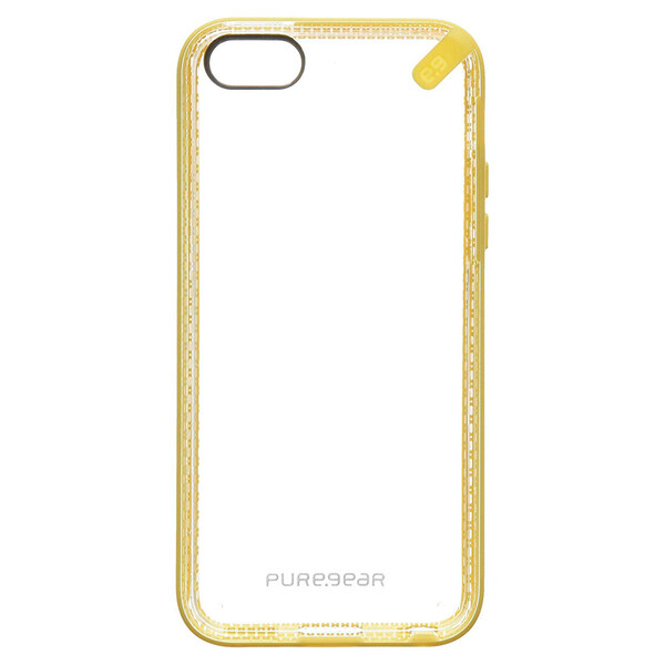 Чехол PureGear Slim Shell Yellow для iPhone 5C