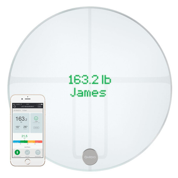 Умные весы Qardio QardioBase 2 Wireless Smart Scale Arctic White