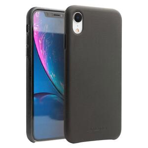 Купить Кожаный чехол Qialino Leather Back Case Black для iPhone XR