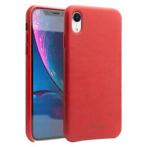 Купить Кожаный чехол Qialino Leather Back Case Red для iPhone XR