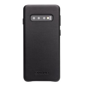 Купить Кожаный чехол Qialino Leather Back Case Black для Samsung S10