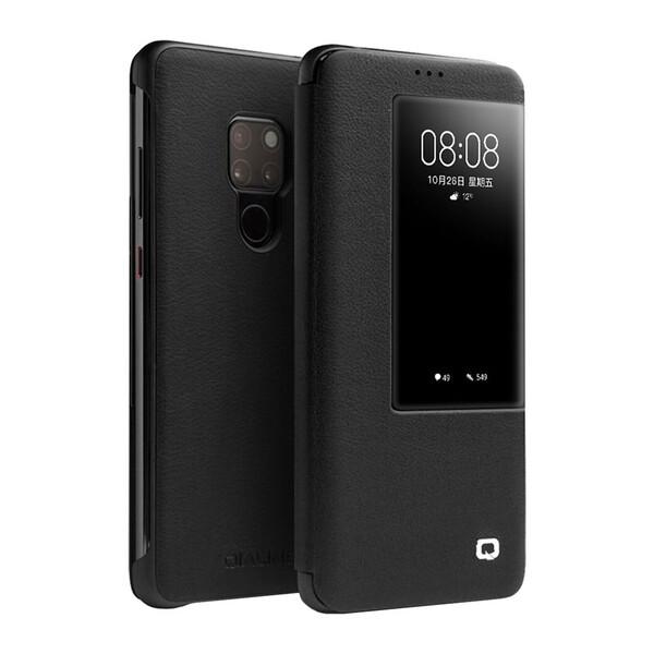 Чехол-книжка Qialino Leather Flip View Black для Huawei Mate 20