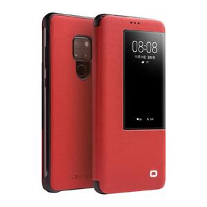 Купить Чехол-книжка Qialino Leather Flip View Red для Huawei Mate 20