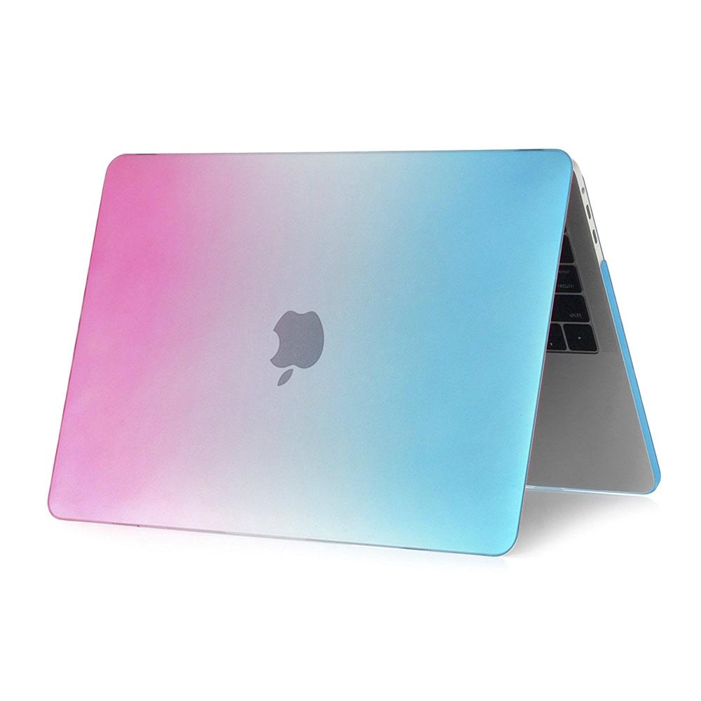 """Купить Пластиковый чехол oneLounge Rainbow Blue   Pink для MacBook Pro 13"""" (2016-2019)"""