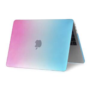 """Купить Пластиковый чехол Rainbow Blue/Pink для Macbook Pro 13"""" (2016/2017)"""