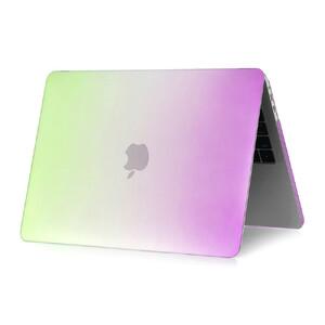 """Купить Пластиковый чехол Rainbow Green/Purple для Macbook Pro 13"""" (2016)"""
