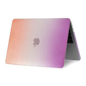 """Купить Пластиковый чехол Rainbow Purple/Orange для Macbook Pro 13"""" (2016)"""