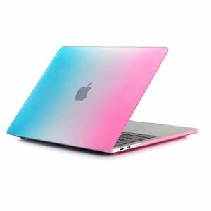 """Купить Пластиковый чехол oneLounge Rainbow Blue/Pink для Macbook Pro 15"""" (2016/2017/2018)"""