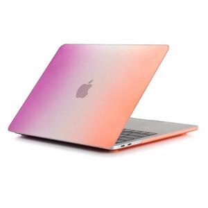 """Купить Пластиковый чехол Rainbow Purple/Orange для Macbook Pro 15"""" (2016/2017)"""