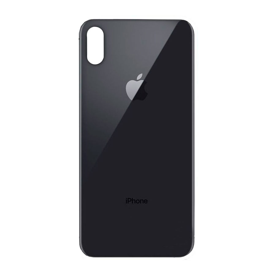 Купить Задняя крышка + стекло камеры (Space Gray) для iPhone XS