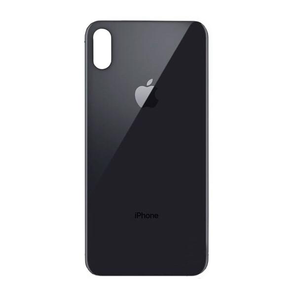 Задняя крышка + стекло камеры (Space Gray) для iPhone XS