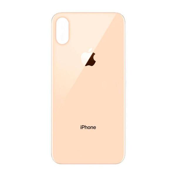 Задняя крышка + стекло камеры (Gold) для iPhone XS