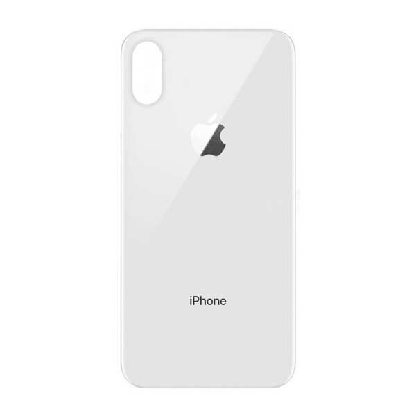 Задняя крышка + стекло камеры (Silver) для iPhone XS