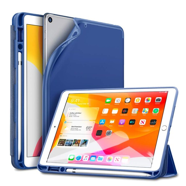 "Чехол-книжка ESR Rebound Pencil Trifold Smart Case Navy Blue для iPad 7 | 8 10.2"" (2019 | 2020)"