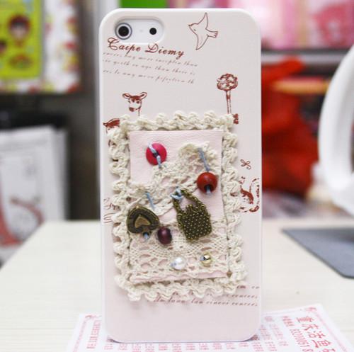 Женский чехол HandMade для iPhone 5/5S/SE