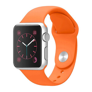 Ремінець iLoungeMax Sport Band 41mm   40mm   38mm Orange для Apple Watch SE   7   6   5   4   3   2   1 OEM