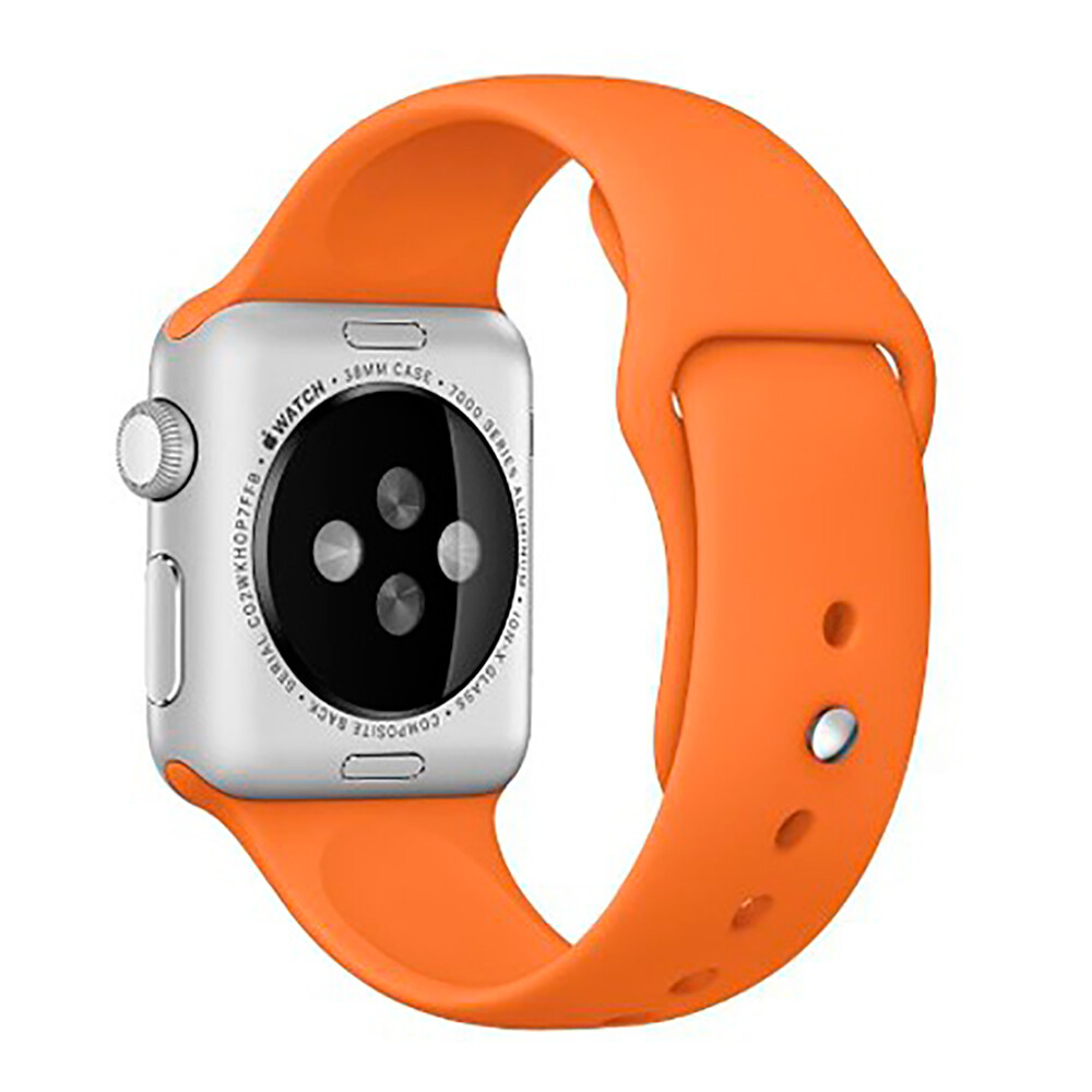 Ремешок Sport Band 38mm/40mm Orange для Apple Watch Series 1/2/3/4
