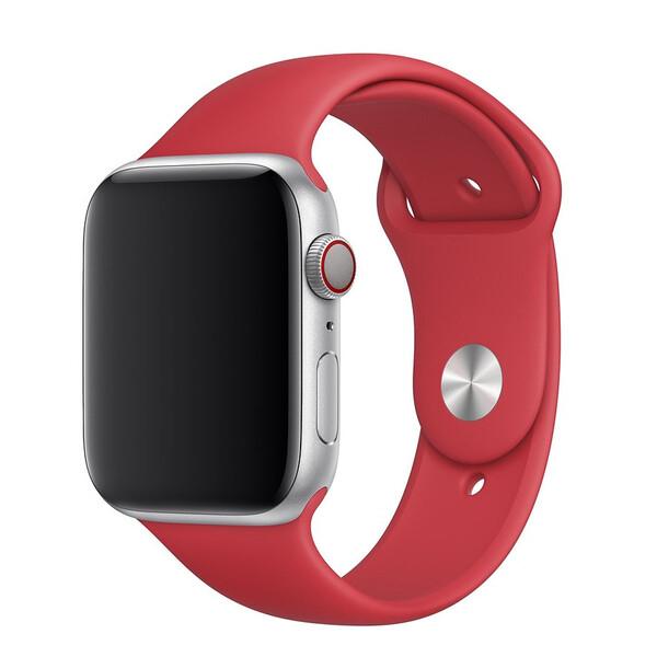 Ремешок iLoungeMax Sport Band 38mm | 40mm Red для Apple Watch SE | 6 | 5 | 4 | 3 | 2 | 1 OEM