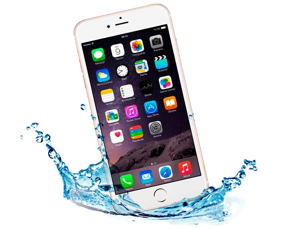 Ремонт после попадания воды iPhone 7