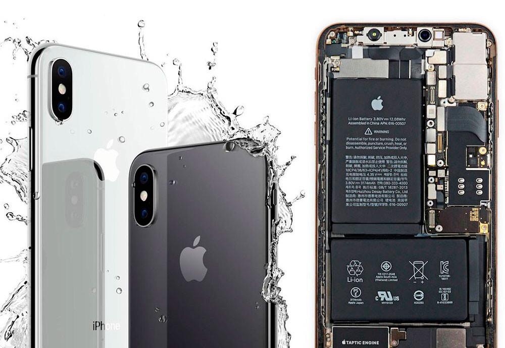 Ремонт после попадания влаги iPhone XS Max