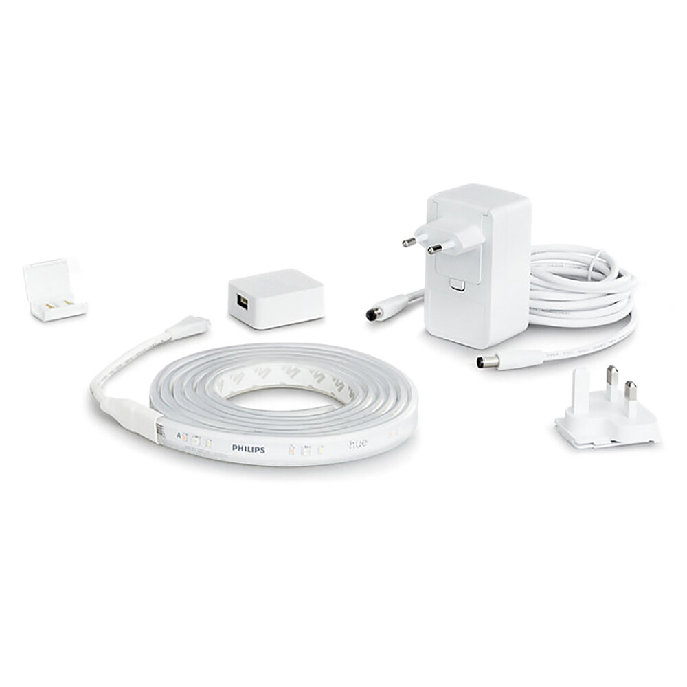 Светодиодная лента Philips Hue Ambiance Lightstrip Plus V4 2м Apple HomeKit (базовый комплект)