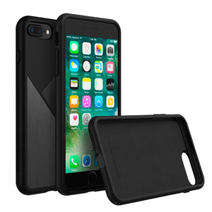 Купить Чехол RhinoShield Solidsuit Brushed Steel Black для iPhone 7 Plus/8 Plus