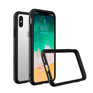 Купить Бампер RhinoShield CrashGuard Black для iPhone X