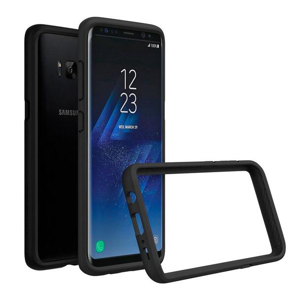Бампер RhinoShield CrashGuard Black для Samsung Galaxy S8