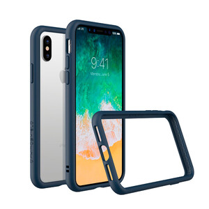 Купить Бампер RhinoShield CrashGuard Dark Blue для iPhone X