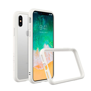 Купить Бампер RhinoShield CrashGuard White для iPhone X