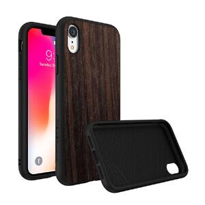 Купить Противоударный чехол RhinoShield SolidSuit Black Oak для iPhone XR