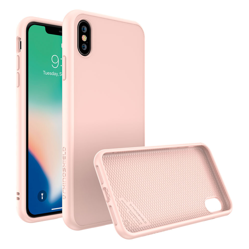 Противоударный чехол RhinoShield SolidSuit Blush Pink для iPhone XS Max