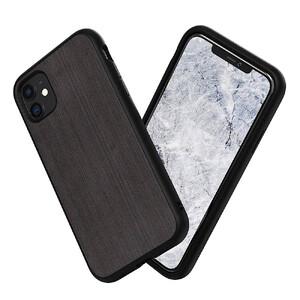 Купить Противоударный чехол RhinoShield SolidSuit Brushed Steel Black для iPhone 11