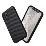 Противоударный чехол RhinoShield SolidSuit Carbon Fiber Black для iPhone 11 Pro Max
