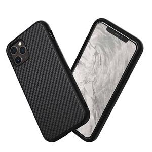 Купить Противоударный чехол RhinoShield SolidSuit Carbon Fiber Black для iPhone 11 Pro Max