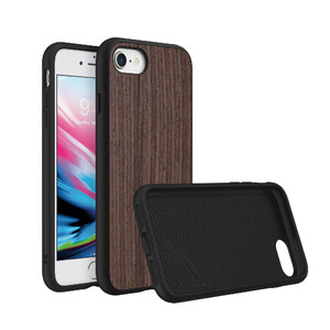 Купить Чехол RhinoShield SolidSuit Dark Walnut для iPhone 7/8/SE 2020