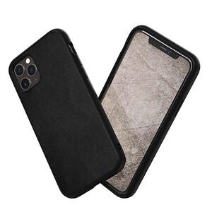 Купить Противоударный чехол RhinoShield SolidSuit Leather Black для iPhone 11 Pro