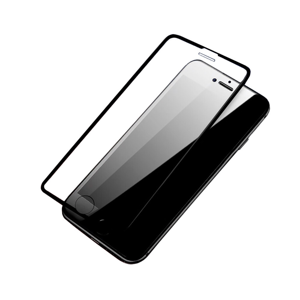 Защитное стекло ROCK 3D Full Screen Curved Edge Black для iPhone 6/6s/7/8