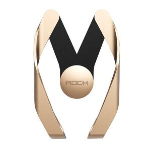 Купить Регулируемый автодержатель ROCK Autobot M Gold для смартфонов