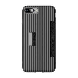 Купить Чехол с отделением для карт ROCK Cana Black для iPhone 7 Plus