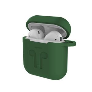 Купить Силиконовый чехол ROCK Carrying Case Forest Green для Apple AirPods 2 | 1
